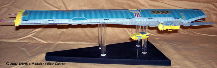 Starship Modeler Yellow Sci Fi Modeling Contest