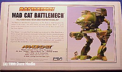 Starship Modeler Battletech Mad Cat Kit Preview
