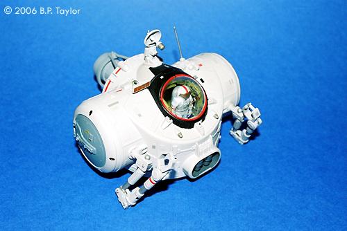Starship Modeler Luna Corporation Cargo Shuttle