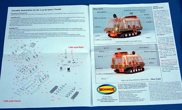 Starship Modeler - Moebius LiS Chariot Kit Preview