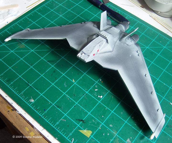 Starship Modeler 1 72 F 302 Built