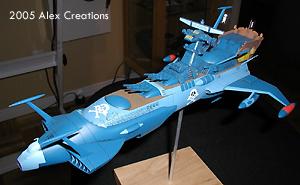 Realisation space pirate battleship Arcadia 1:1500 (Hasegawa) - Page 2 Oc_blue_arc80f