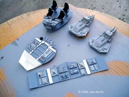 Starship Modeler - ERTL Millenium Falcon