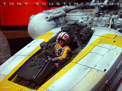 Starship Modeler Last Mission Of Gold Flight Diorama