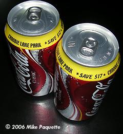 Starship Modeler - Removing Chrome with Cola