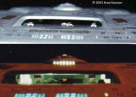 enterprise mit beleuchtung