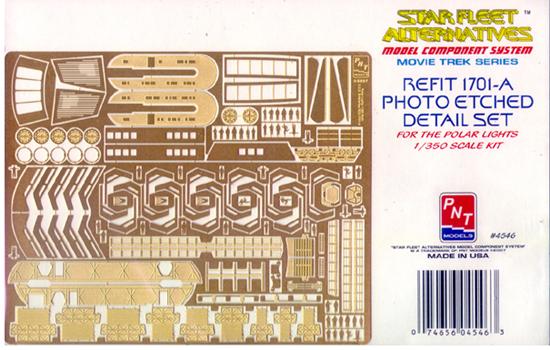 Starship Modeler - PNT Models Refit Photoetched Detail Set