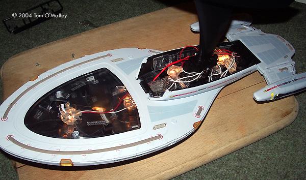 Part Uss Voyager Kit - Mediamotors